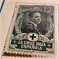 Sellos: 1 SELLO CABO JUBY 1926 PRO CRUZ ROJA ESPAÑOLA HABILITADO Nº 29. Lote 135941858