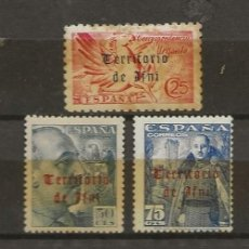 Sellos: IFNI - 5 SELLOS DIF. AÑO 1948-49 *. Lote 135949158