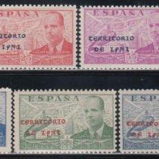 Sellos: IFNI , 1941 EDIFIL Nº 15 H / 15 P /**/. Lote 138807086
