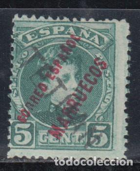 MARRUECOS , 1908 EDIFIL Nº 25 /*/ (Sellos - España - Colonias Españolas y Dependencias - África - Marruecos)