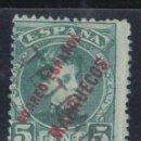 Sellos: MARRUECOS , 1908 EDIFIL Nº 25 /*/. Lote 139127922