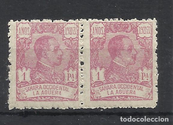 PAREJA 4 ALFONSO XIII LA AGUERA 1923 EDIFIL 24 NUEVO** VALOR 2018 CATALOGO 49.50 EUROS (Sellos - España - Colonias Españolas y Dependencias - África - La Agüera)