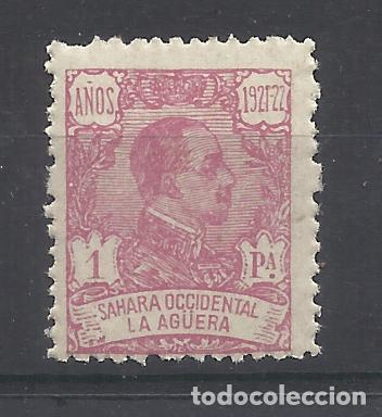 ALFONSO XIII LA AGUERA 1923 EDIFIL 24 NUEVO** VALOR 2018 CATALOGO 24.75 EUROS (Sellos - España - Colonias Españolas y Dependencias - África - La Agüera)