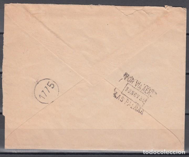 Sellos: IFNI- BUENOS AIRES, POR VÍA AÉREA , MARCA CERTIFICANDO LA NO EXISTENCIA DE SELLOS, FIRMA M. PORTILLO - Foto 2 - 139217842