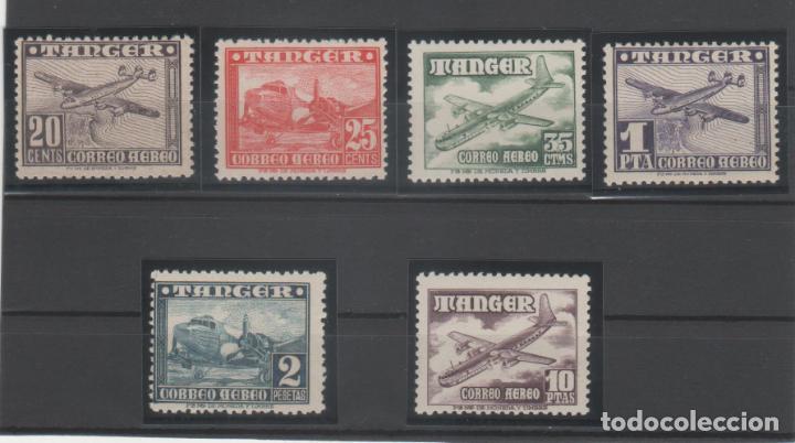 AVIONES.- CORREO AÉREO.-1948 (Sellos - España - Colonias Españolas y Dependencias - África - Tanger)