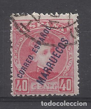 ALFONSO XIII MARRUECOS 1903 EDIFIL 9 USADO VALOR 2019 CATALOGO 8.50 EUROS (Sellos - España - Colonias Españolas y Dependencias - África - Marruecos)