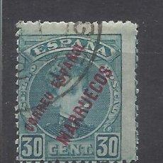 Sellos: ALFONSO XIII MARRUECOS 1903 EDIFIL 8 USADO VALOR 2019 CATALOGO 5.20 EUROS. Lote 140400482