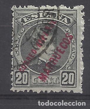 ALFONSO XIII MARRUECOS 1903 EDIFIL 6 USADO VALOR 2019 CATALOGO 5.20 EUROS (Sellos - España - Colonias Españolas y Dependencias - África - Marruecos)