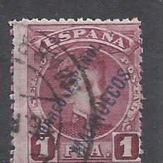 Sellos: ALFONSO XIII MARRUECOS 1903 EDIFIL 11 USADO VALOR 2019 CATALOGO 11.50 EUROS. Lote 140413402