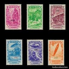 Sellos: IFNI. BENEFICENCIA. 1939.HISTORIA DEL CORREO. SERIE COMPLETA.NUEVO**. EDIF.Nº1-6. Lote 141566362