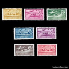 Sellos: AFRICA OCCIDENTAL. 1951.PAISAJES Y EFIGIE. SERIE COMPLETA.NUEVO***. EDIF.Nº20-26. Lote 141593498