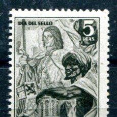 Sellos: EDIFIL 71, 5 PTS DE IFNI. DIA DEL SELLO 1950. NUEVO SIN FIJASELLOS.. Lote 141709038