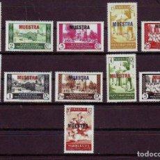 Stamps - MARRUECOS 137/47 **/*MNH/MH MUESTRA. CERTIFICADA - 141734450