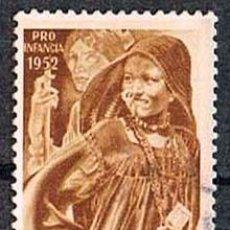 Sellos: SAHARA EDIFIL Nº 94, PRO INFANCIA INDIGENA, USADO. Lote 142690998
