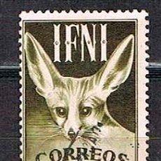Sellos: IFNI EDIFIL Nº 78, ZORRO DEL DESIERTO, USADO. Lote 142706926