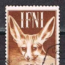 Sellos: IFNI EDIFIL Nº 76, ZORRO DEL DESIERTO, USADO. Lote 142706990