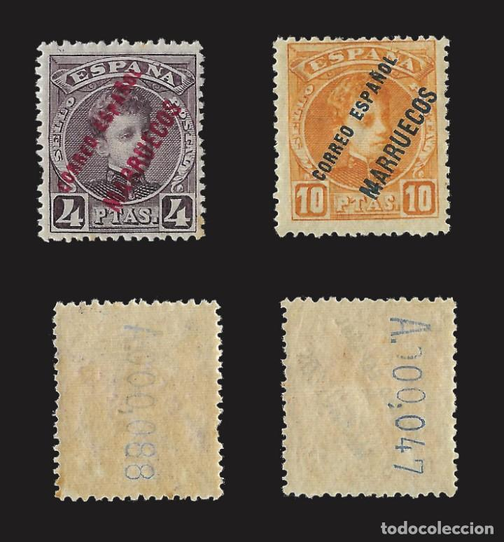 Sellos: MARRUECOS 1903-1909.Sellos España Habilitados.Serie completa.Nuevo..Edifil nº1-13 - Foto 7 - 142721166
