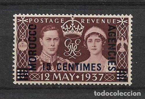 COLONIAS BRITÁNICAS MARRUECOS AGENCIAS 1937 * MH - 1/12 (Sellos - España - Colonias Españolas y Dependencias - África - Marruecos)