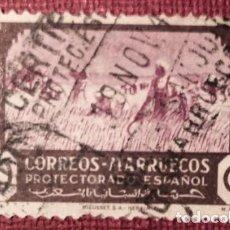 Sellos: MARRUECOS. 1944, AGRICULTURA. 40 CTS. CASTAÑO Y LILA (Nº 254 EDIFIL).. Lote 143071134