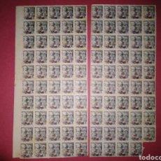 Sellos: 98 SELLOS GUINEA EDIFIL 273A** MANCHAS DEL TIEMPO. Lote 143611333
