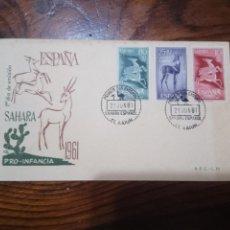 Sellos: 1961.SPD.SAHARA.PRO INFANCIA.. Lote 143839006