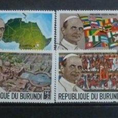 Sellos: BURUNDI - FOTO 607 - USADOS 6 VALORES. Lote 143988118