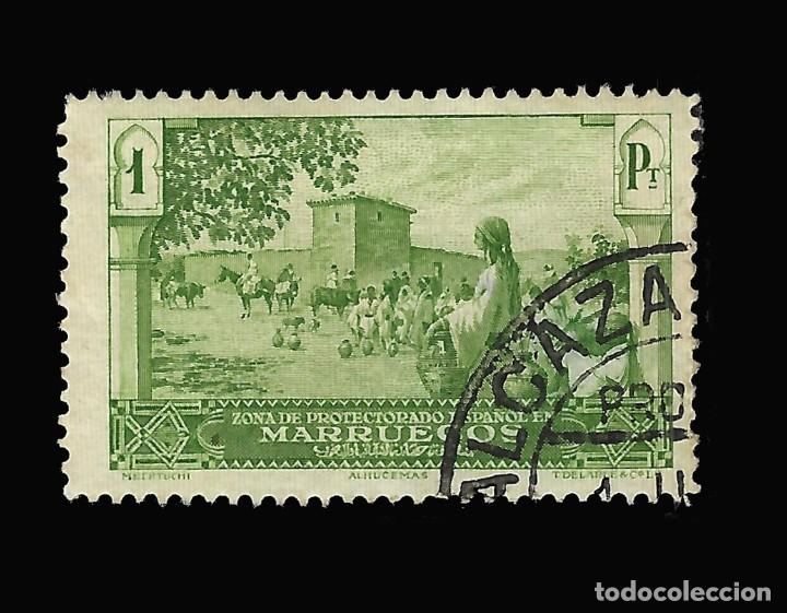 Sellos: Sellos España. . MARRUECOS 1928.Paisajes y Monumentos.Serie completa. Usado.Edif.105-118 - Foto 4 - 145515526