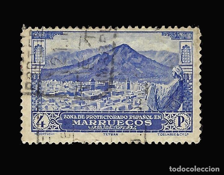 Sellos: Sellos España. . MARRUECOS 1928.Paisajes y Monumentos.Serie completa. Usado.Edif.105-118 - Foto 5 - 145515526