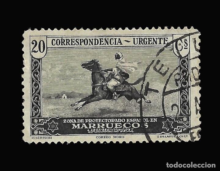 Sellos: Sellos España. . MARRUECOS 1928.Paisajes y Monumentos.Serie completa. Usado.Edif.105-118 - Foto 6 - 145515526