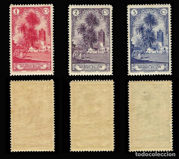 Stamps: MARRUECOS 1928.Paisajes y Monumentos.Serie completa. Nuevo.Edifil.nº105-118 - Foto 2 - 146116462