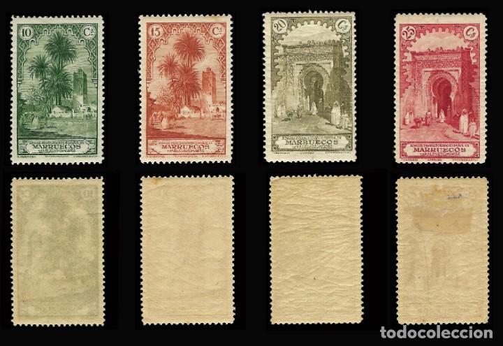 Stamps: MARRUECOS 1928.Paisajes y Monumentos.Serie completa. Nuevo.Edifil.nº105-118 - Foto 3 - 146116462