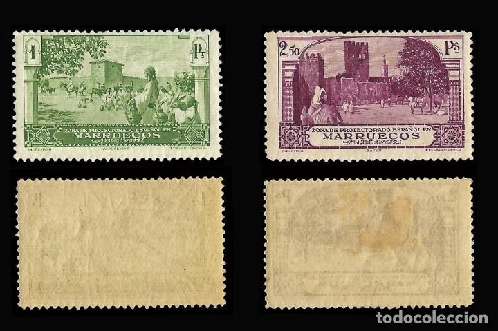 Stamps: MARRUECOS 1928.Paisajes y Monumentos.Serie completa. Nuevo.Edifil.nº105-118 - Foto 5 - 146116462