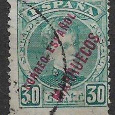 Sellos: ESPAÑA MARRUECOS 1903 EDIFIL 8 USADO - 8/39. Lote 146695462