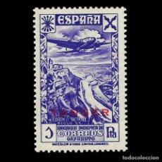 Sellos: TANGER.BENEFICENCIA. 1943.HISTORIA DEL CORREO.1P. VIOLETA. NUEVO**. EDIFIL Nº 21.. Lote 147535206