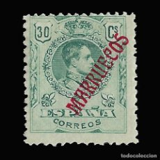 Sellos: MARRUECOS 1914.SELLOS ESPAÑA HABILITADOS.30C.VERDE. NUEVO* .EDIFIL Nº36. Lote 147639994