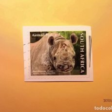 Sellos: SOUTH AFRICA 2014 - ANIMALES SALVAJES - RINOCERONTE.. Lote 148751470