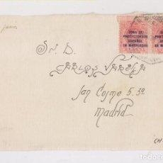 Briefmarken - FRONTAL. MARRUECOS. ESTAFETA DE CAMPAÑA. SOBRECARGADOS - 150628766