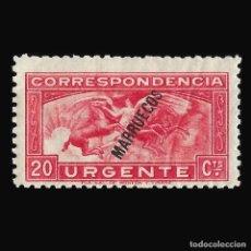 Timbres: TANGER 1933-1938.SELLOS DE ESPAÑA .20C.ROJO.NUEVO*. EDIFIL.Nº84. Lote 150793666