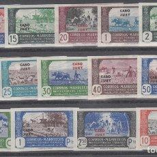 Selos: CABO JUBY CORREO 1944 EDIFIL 138/51S ** MNH. Lote 151061776