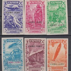 Selos: CABO JUBY BENEFICENCIA 1938 EDIFIL 1/6S * MH. Lote 151061808