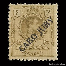 Sellos: CABO JUBY. 1919.SELLOS DE ESPAÑA.1876-1902-22. 2C. CASTAÑO. NUEVO** EDIF.Nº 6.. Lote 151869166