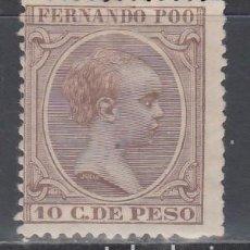 Sellos: FERNANDO POO, 1894 - 1896 EDIFIL Nº 17 /*/. Lote 152616298