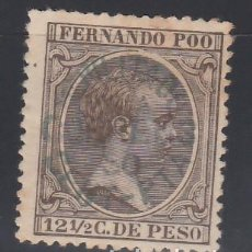 Sellos: FERNANDO POO, 1896 - 1900 EDIFIL Nº 29 /*/ . Lote 152652334