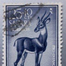 Sellos: SAHARA. PRO INFANCIA 1961. Lote 153468301