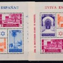 Sellos: MARRUECOS 1937 - HOJAS BLOQUE DE SELLOS TIPOS 1935-37 NUEVAS SIN FIJASELLOS ED. 167/168. Lote 155529354