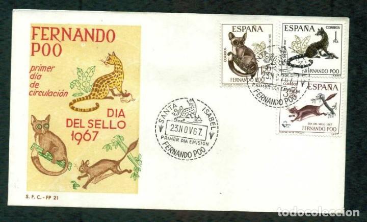 SPD - FERNANDO POO 1967 - DIA DEL SELLO (Sellos - España - Colonias Españolas y Dependencias - África - Fernando Poo)