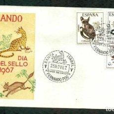 Sellos: SPD - FERNANDO POO 1967 - DIA DEL SELLO. Lote 177857462