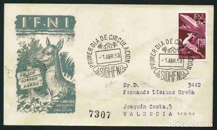 SPD - IFNI 1953-SERIE BÁSICA (Sellos - España - Colonias Españolas y Dependencias - África - Ifni)