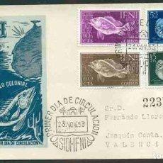 Sellos: SPD - IFNI 1953 - DIA DEL SELLO COLONIAL. Lote 155666502