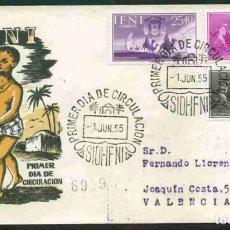 Sellos: SPD - IFNI 1955 - PRO-INFANCIA. Lote 173095669